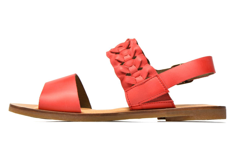 Sandales et nu-pieds El Naturalista Tulip NF31 Rouge vue face