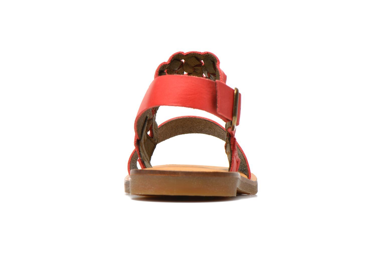 Sandales et nu-pieds El Naturalista Tulip NF31 Rouge vue droite
