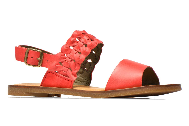 Sandales et nu-pieds El Naturalista Tulip NF31 Rouge vue derrière