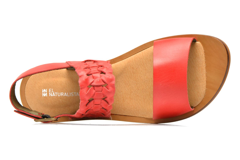 Sandales et nu-pieds El Naturalista Tulip NF31 Rouge vue gauche