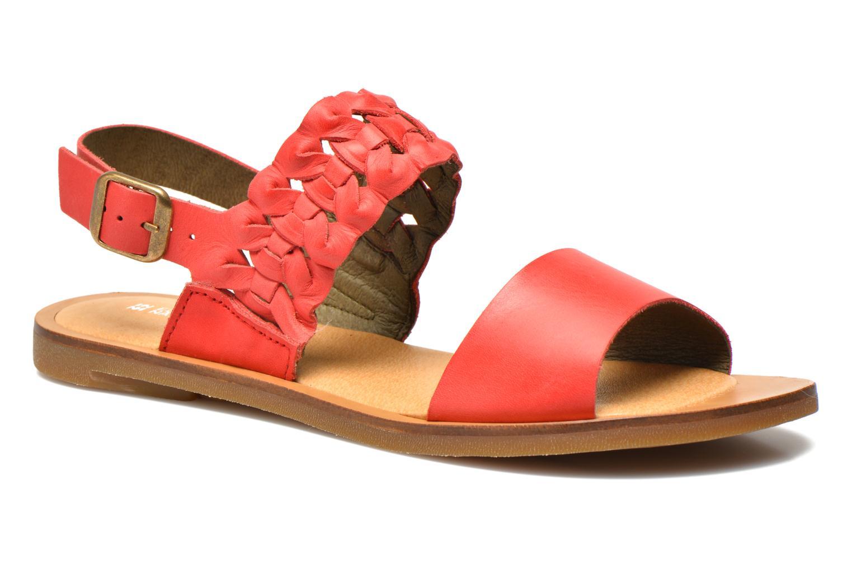 Sandales et nu-pieds El Naturalista Tulip NF31 Rouge vue détail/paire