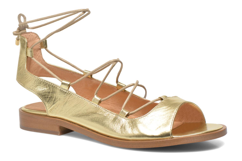 Sandalen Made by SARENZA Discow Girl #4 Goud en brons voorkant