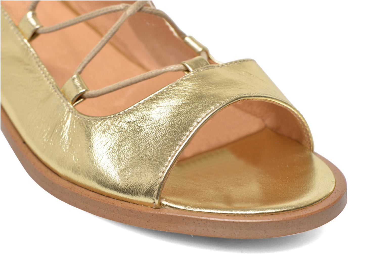 Sandalen Made by SARENZA Discow Girl #4 Goud en brons achterkant
