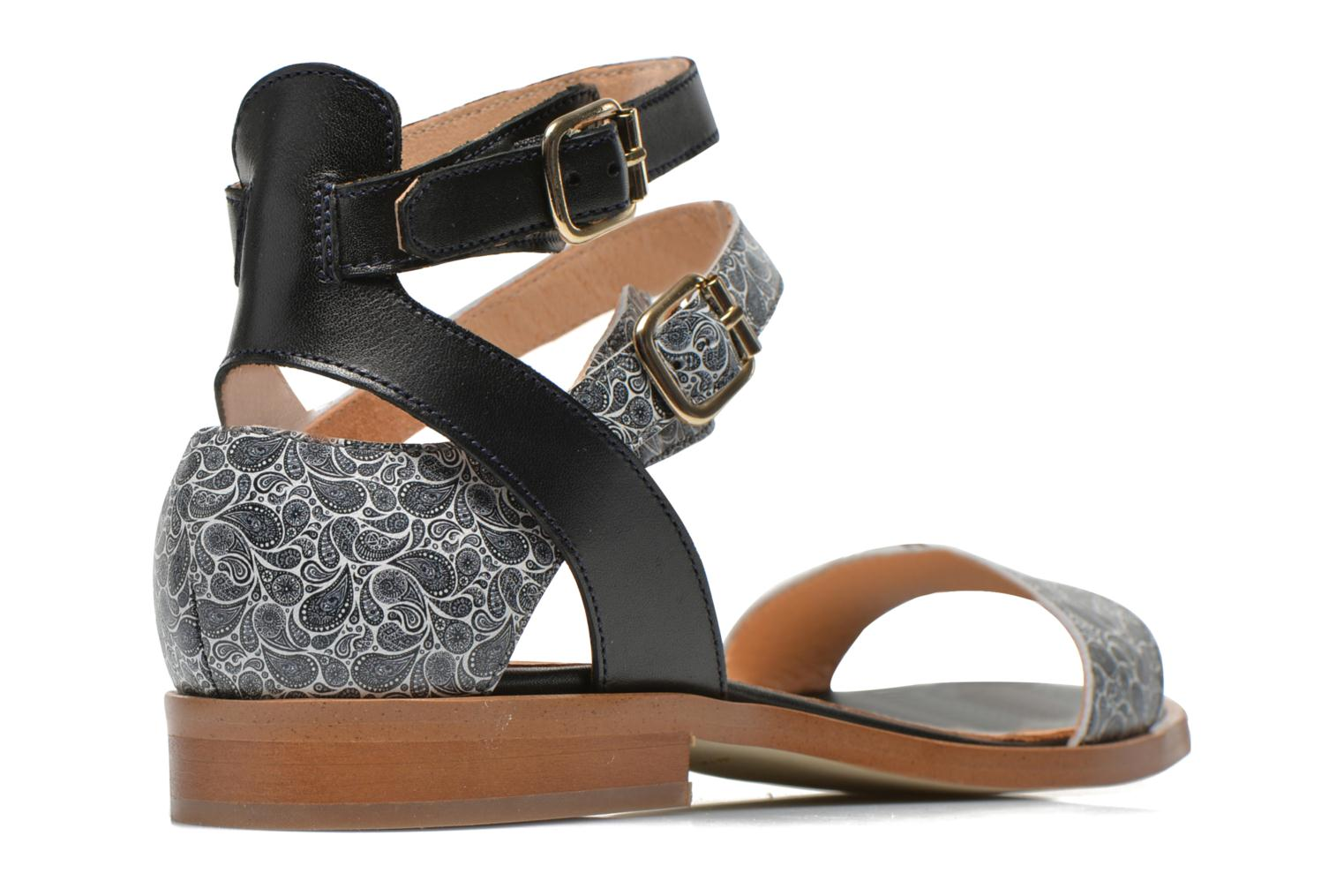 Sandals Made by SARENZA Discow Girl #6 Black model view