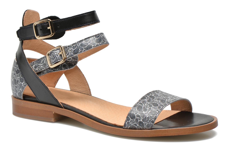 Sandales et nu-pieds Made by SARENZA Discow Girl #6 Noir vue face