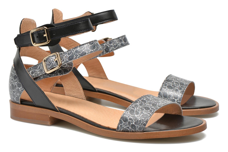 Sandales et nu-pieds Made by SARENZA Discow Girl #6 Noir vue droite