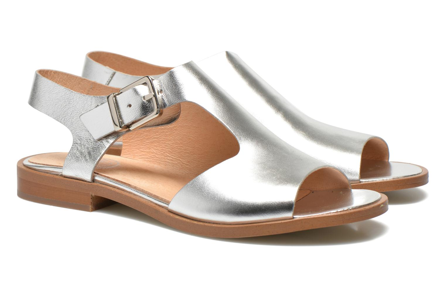 Sandals Made by SARENZA Menthe Hello #13 Bronze and Gold view from the right
