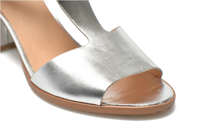 Sandales et nu-pieds Made by SARENZA Square Simone#4 Argent vue derrière