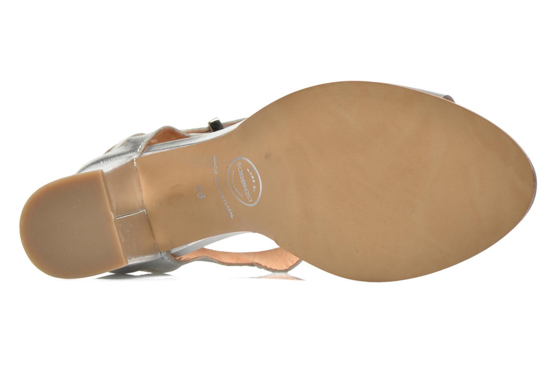 Sandales et nu-pieds Made by SARENZA Square Simone#4 Argent vue gauche