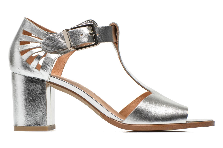 Sandales et nu-pieds Made by SARENZA Square Simone#4 Argent vue détail/paire