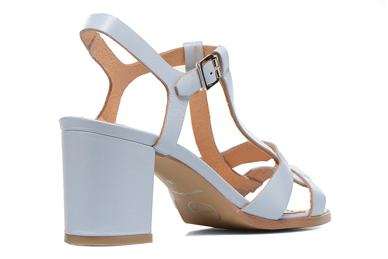 Sandaler Made by SARENZA Square Simone#5 Blå bild från framsidan