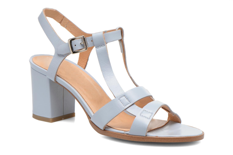 Sandales et nu-pieds Made by SARENZA Square Simone#5 Bleu vue droite