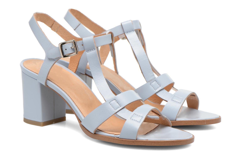 Sandaler Made by SARENZA Square Simone#5 Blå bild från baksidan