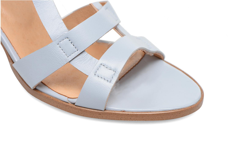 Sandalen Made by SARENZA Square Simone#5 blau ansicht von links