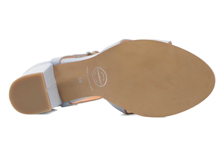 Sandales et nu-pieds Made by SARENZA Square Simone#5 Bleu vue haut