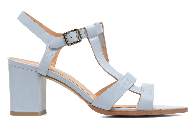 Sandaler Made by SARENZA Square Simone#5 Blå detaljerad bild på paret