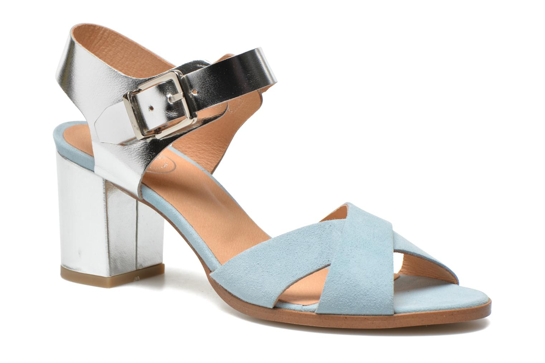 Sandales et nu-pieds Made by SARENZA Menthe Hello #19 Bleu vue face