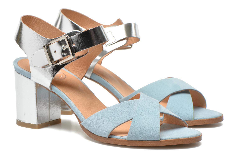 Sandales et nu-pieds Made by SARENZA Menthe Hello #19 Bleu vue droite
