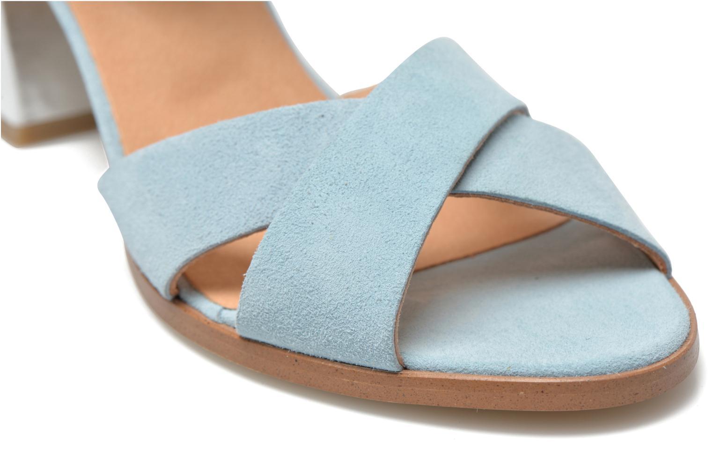 Sandales et nu-pieds Made by SARENZA Menthe Hello #19 Bleu vue derrière