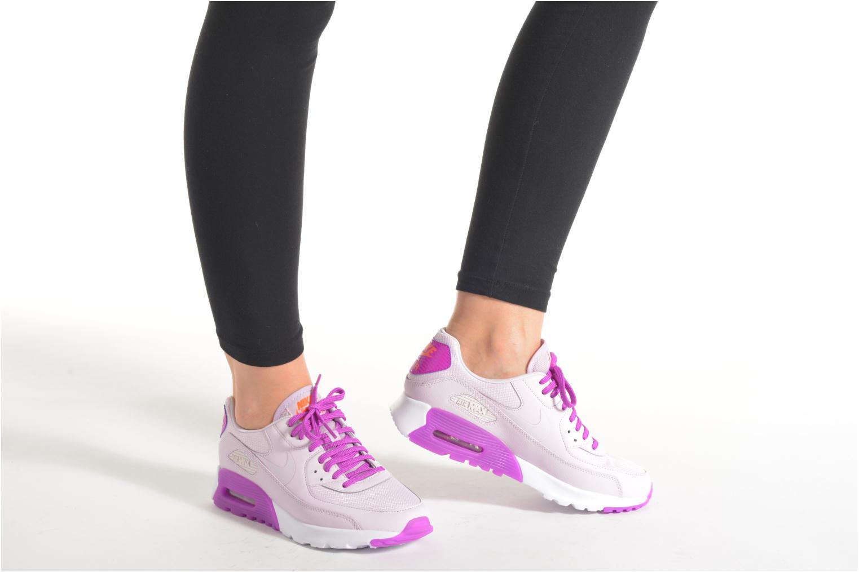 Sneaker Nike W Air Max 90 Ultra Essential lila ansicht von unten / tasche getragen