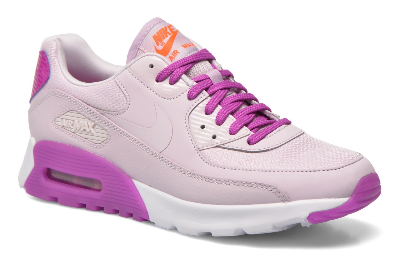 Marques Chaussure femme Nike femme W Air Max 90 Ultra Essential Blchd Lilac/Blchd Llc-Hypr Vlt