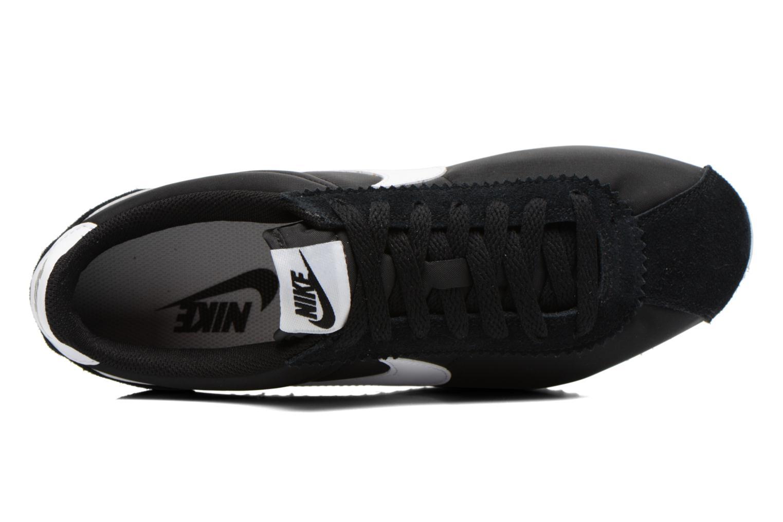 Sneaker Nike Classic Cortez Nylon schwarz ansicht von links