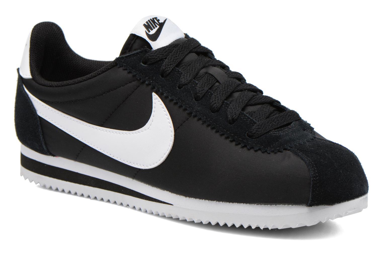 Sneaker Nike Classic Cortez Nylon schwarz detaillierte ansicht/modell