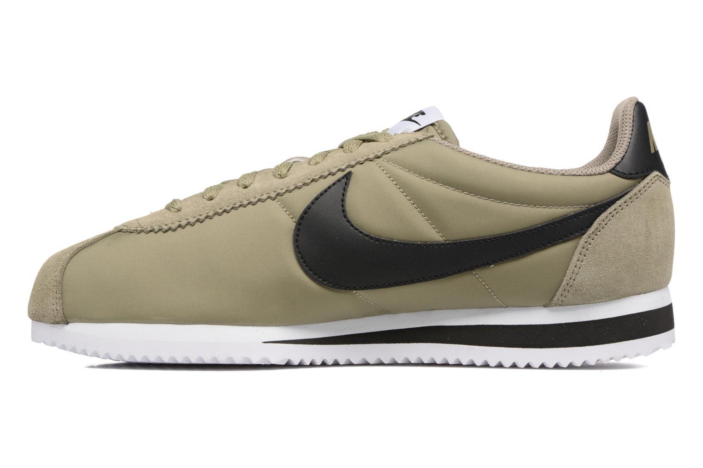 Sneakers Nike Classic Cortez Nylon Grøn se forfra