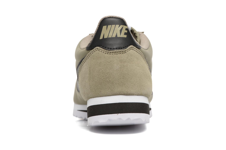 Sneaker Nike Classic Cortez Nylon grün ansicht von rechts
