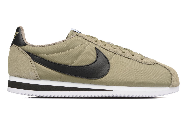 Sneaker Nike Classic Cortez Nylon grün ansicht von hinten
