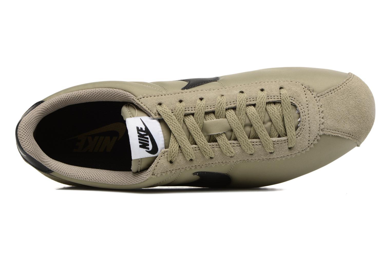 Baskets Nike Classic Cortez Nylon Vert vue gauche