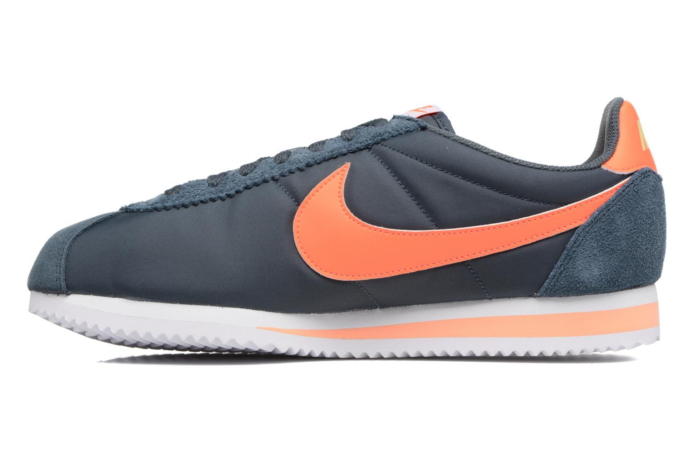 Sneaker Nike Classic Cortez Nylon blau ansicht von vorne