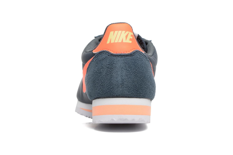 Sneaker Nike Classic Cortez Nylon blau ansicht von rechts