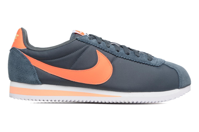 Sneaker Nike Classic Cortez Nylon blau ansicht von hinten