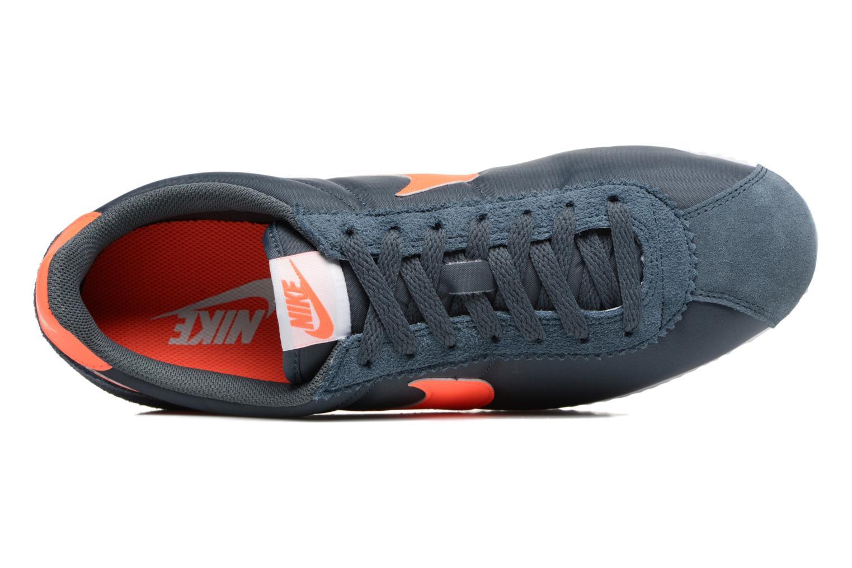 Sneaker Nike Classic Cortez Nylon blau ansicht von links