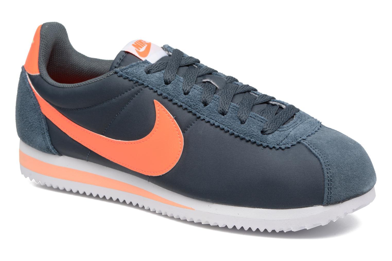 Sneakers Nike Classic Cortez Nylon Blå detaljeret billede af skoene