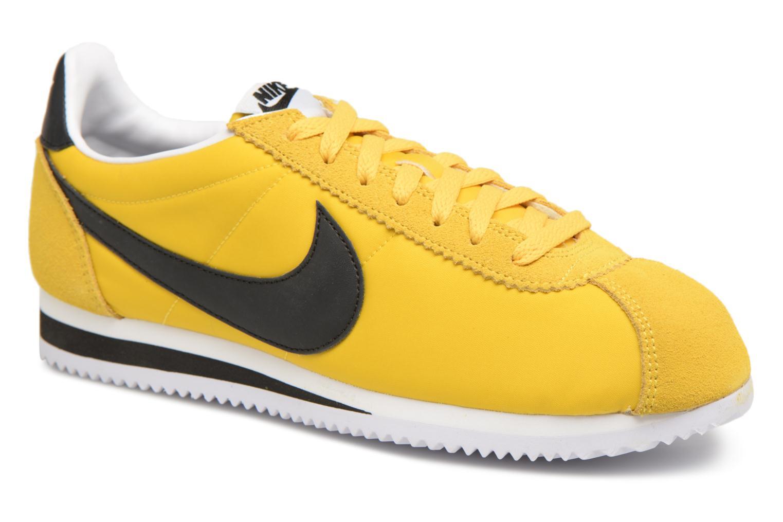 Nike Cortez 807472 701 Scarpe da ginnastica gialle classiche in nylon