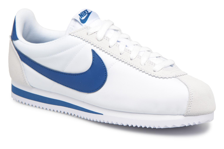Nike Classic Cortez Nylon (Blanc) - Baskets chez Sarenza (327383)