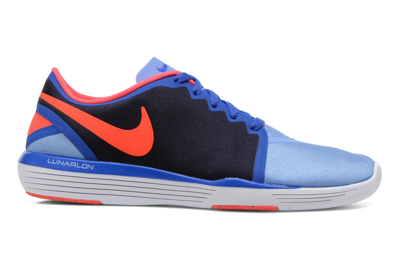 Chaussures de sport Nike Wmns Nike Lunar Sculpt Bleu vue derrière