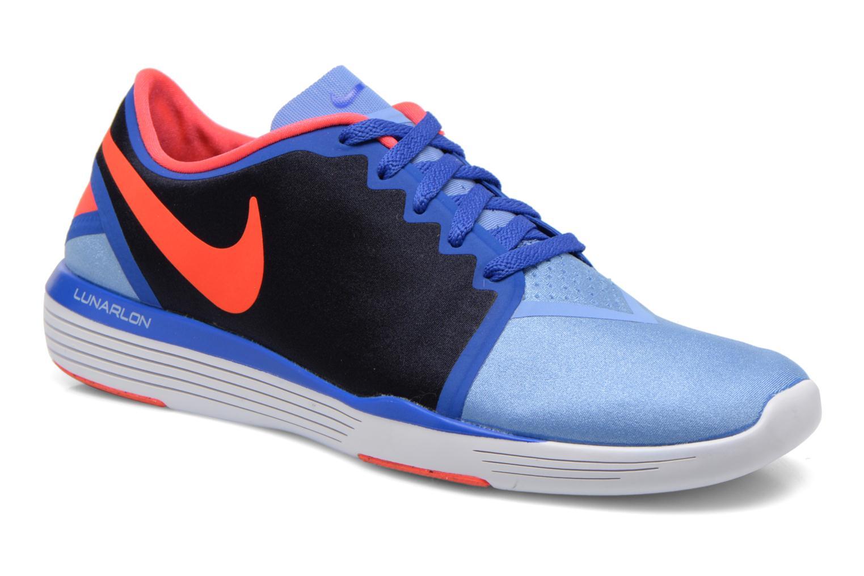 Chaussures de sport Nike Wmns Nike Lunar Sculpt Bleu vue détail/paire