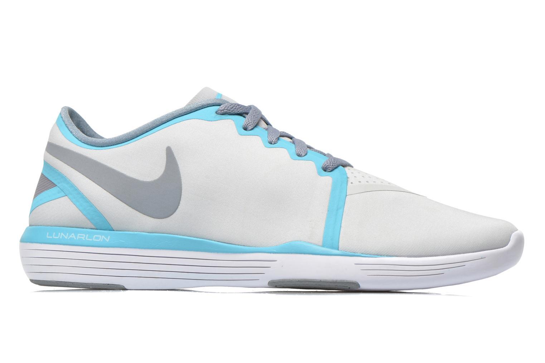 Chaussures de sport Nike Wmns Nike Lunar Sculpt Gris vue derrière