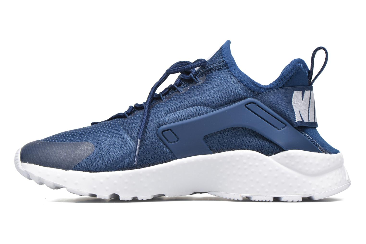 Baskets Nike W Air Huarache Run Ultra Bleu vue face