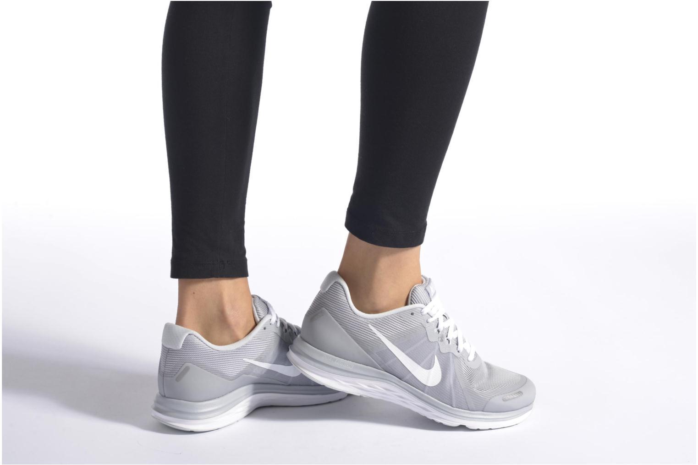 Chaussures de sport Nike Wmns Nike Dual Fusion X 2 Bleu vue bas / vue portée sac