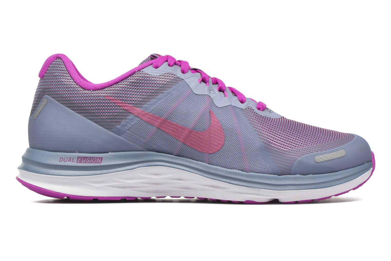 Wmns Nike Dual Fusion X 2 Cool Blue/Mtlc Fuchsia-Fire Pink-White
