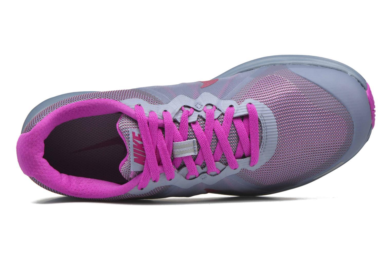 Chaussures de sport Nike Wmns Nike Dual Fusion X 2 Bleu vue gauche