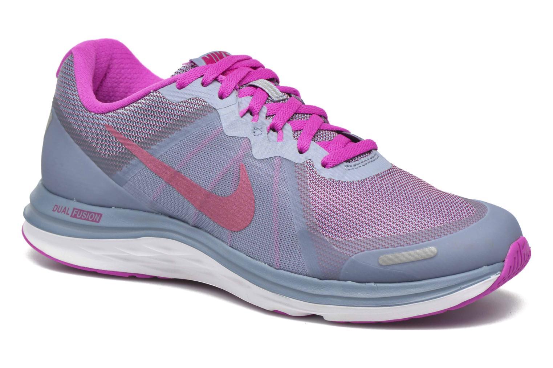 Chaussures de sport Nike Wmns Nike Dual Fusion X 2 Bleu vue détail/paire
