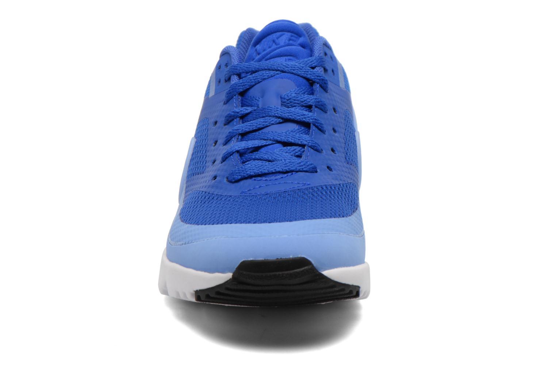 Baskets Nike W Air Max Bw Ultra Bleu vue portées chaussures