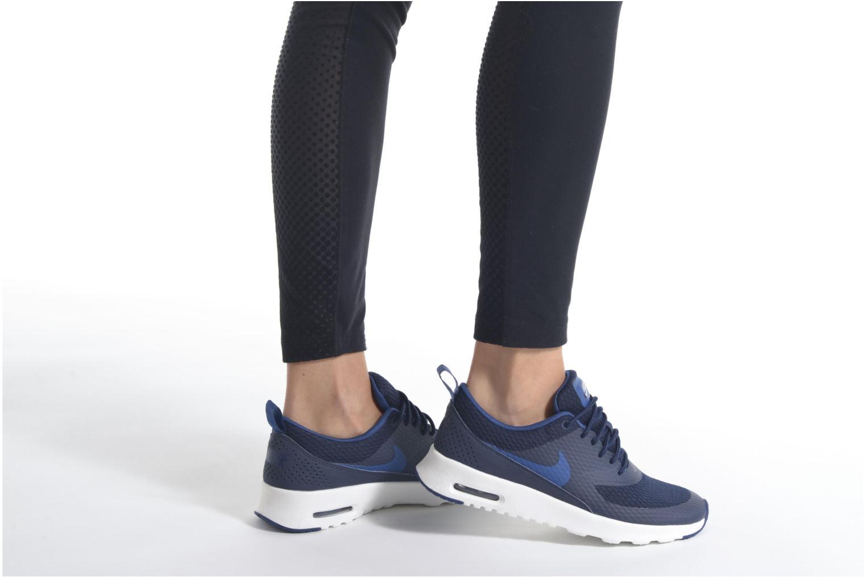 Baskets Nike W Nike Air Max Thea Txt Blanc vue bas / vue portée sac