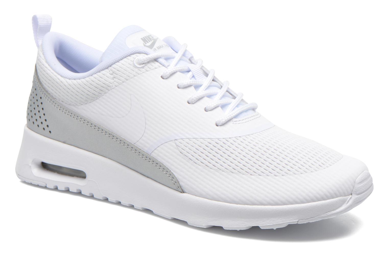 Deportivas Nike W Nike Air Max Thea Txt Blanco vista de detalle / par