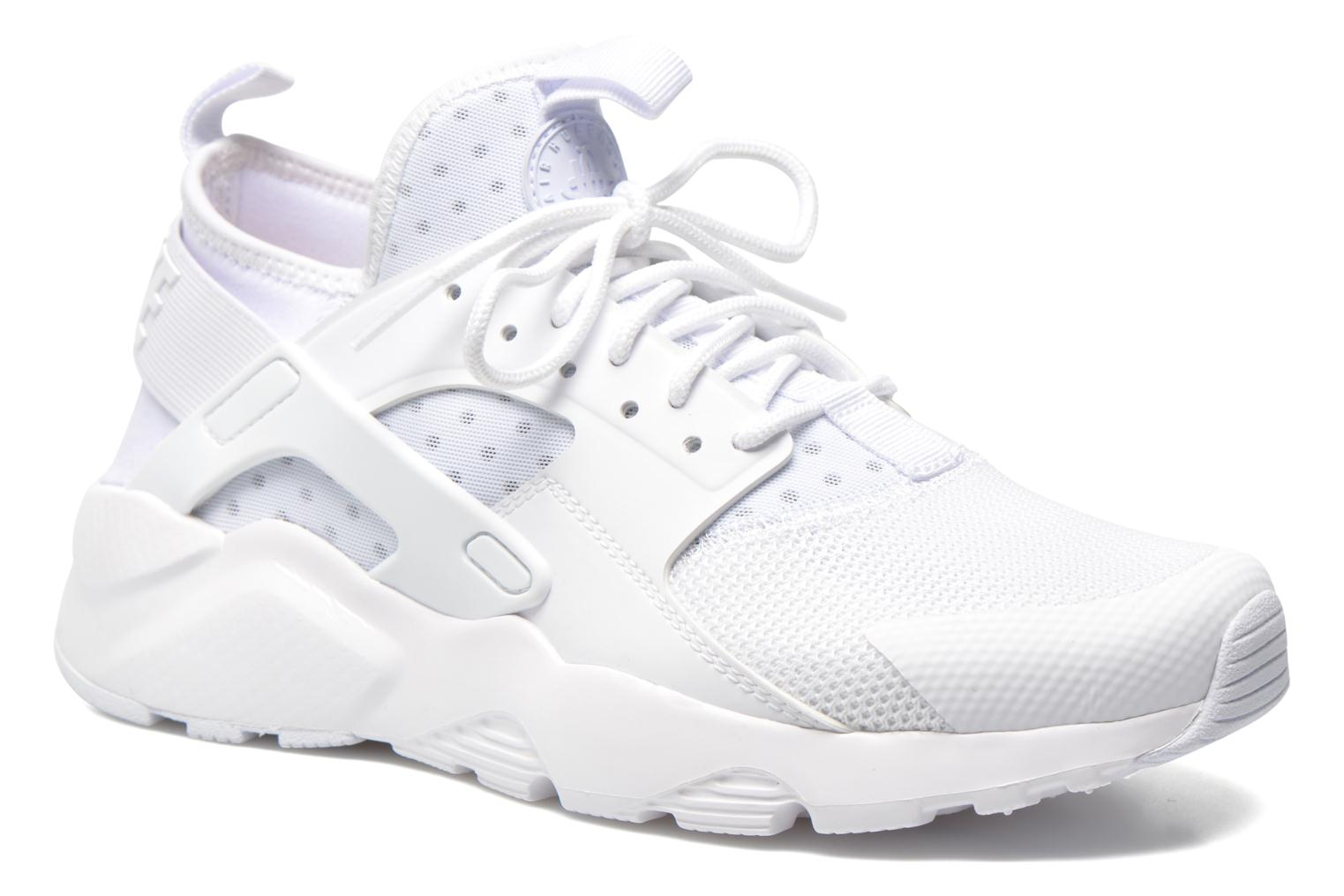 Baskets Nike Nike Air Huarache Run Ultra Blanc vue détail/paire
